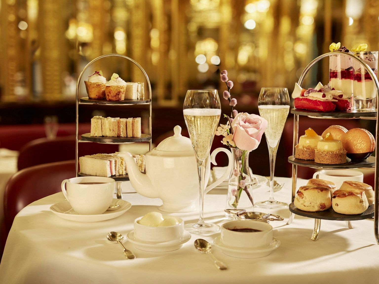 luxury afternoon tea hotel cafe royal london